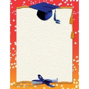 graduation border paper va pack