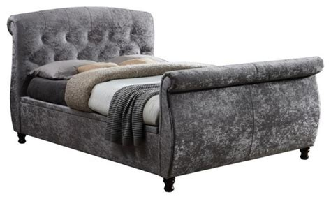 Ottoman Sleigh Bed by Toulouse Ottoman Bed Modern Sleigh Beds By Birlea