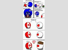 Canada and Japan Countryballs