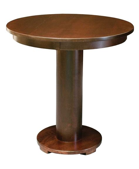 barrel bistro dining table amish direct furniture