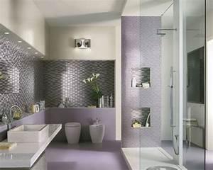 Decoration De Salle De Bain : une salle de bain moderne et l gante mode d 39 emploi ~ Teatrodelosmanantiales.com Idées de Décoration