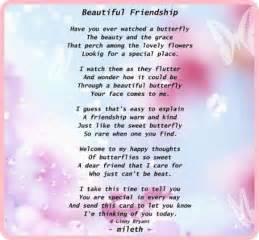 Beautiful Friendship Poems
