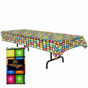 Disco Party Table Cover