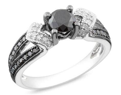 black wedding rings for women