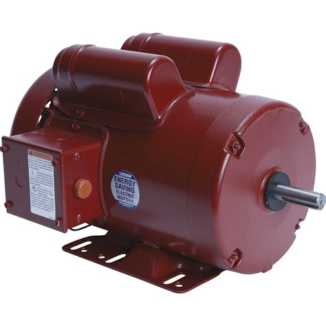 1 Hp Electric Motor by Leeson Farm Duty Electric Motor 1 5 Hp 1 725 Rpm 115