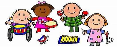 Preschool Clipart Centers Clip Cartoon Instruments Musical