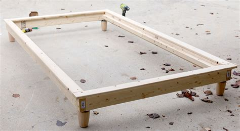 How To Build A Platform Bed by Diy Platform Bed