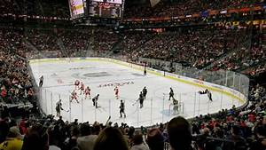T Mobile Arena Section 19 Row T Seat 21 Vegas Golden