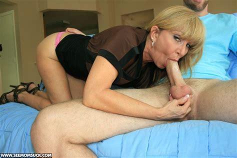Mom Makes Cock Burst At