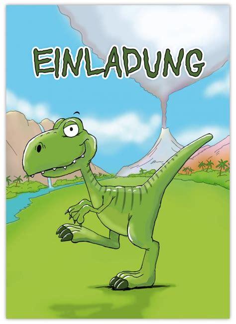 einladungen zum kindergeburtstag dinosaurier emufarm