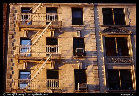 picturephoto residential building  emergency exit