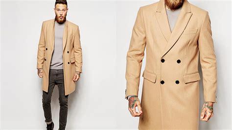 All About Men's Essentials (M.E.) Camel Coats For Men