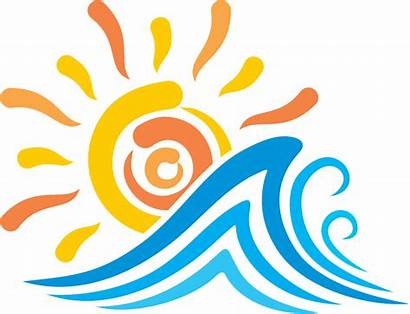 Clipart Waves Sun Heat Transparent Did Know