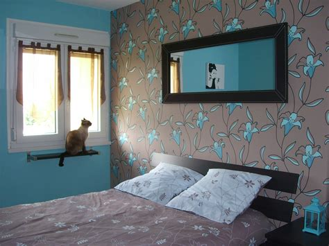 beautiful deco chambres chocolat et turquoise pictures
