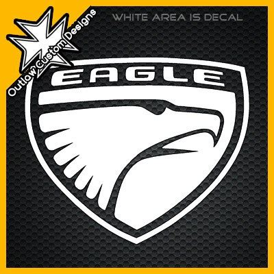 jeep eagle logo custom decal a1 decals