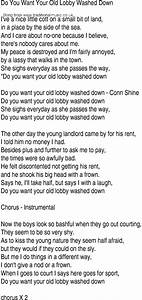 Irish, Music, Song, And, Ballad, Lyrics, For, Do, You, Want, Your