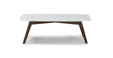 marble coffee table vena rectangular coffee table article