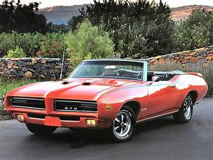 1969 Pontiac Gto The Judge Convertible Orange Fvl