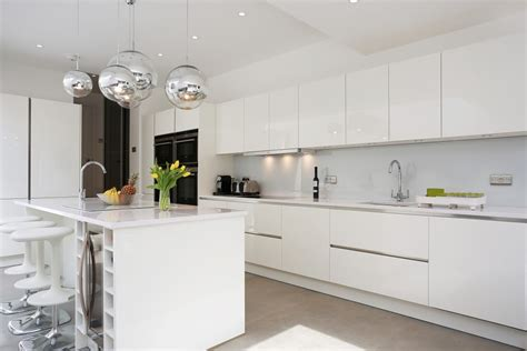 kitchen island with 4 stools white kitchen installations by lwk kitchens