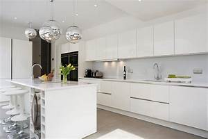White kitchen installations by LWK Kitchens - YouTube