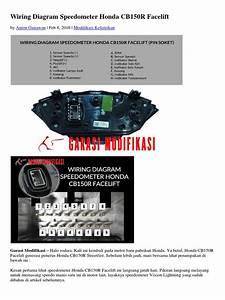 Wiring Diagram Speedometer Honda Cb150r Facelift Docx
