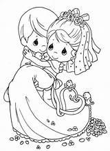 Coloring Marry Weddings Popular sketch template