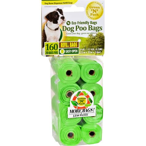 eco friendly bags dog poo bags refill  pack yumza
