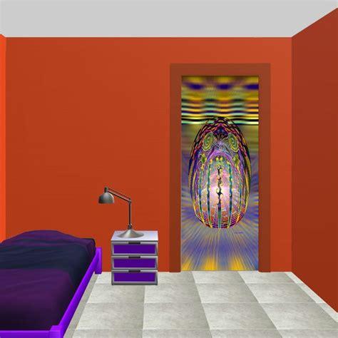 deco porte de chambre deco chambre decor de porte l 39 oeuf cosmique