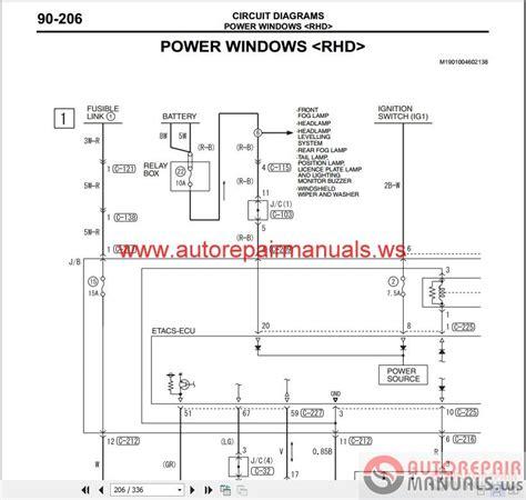 mitsubishi lancer ix 2006 wiring diagrams auto repair manual heavy equipment