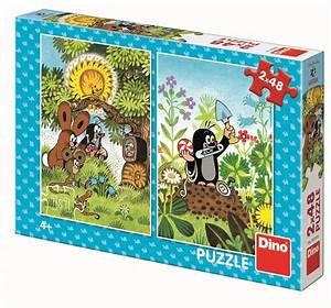 Puzzle Online Kaufen : 2 puzzles der maulwurf 48 teile dino puzzle online kaufen ~ Watch28wear.com Haus und Dekorationen