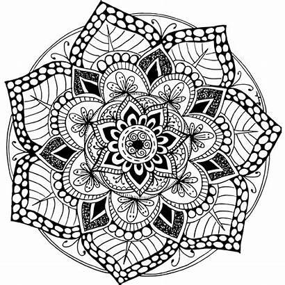 Mandala Coloring Pages Advanced Level Printable Colouring