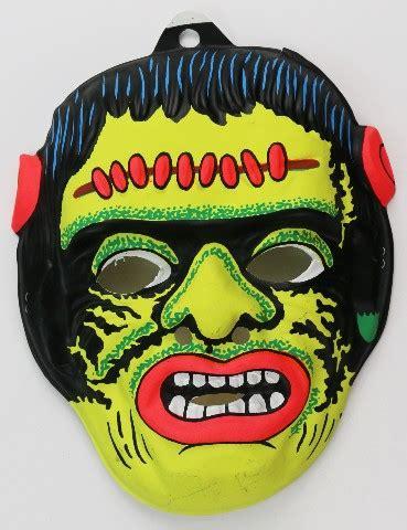vintage frankenstein halloween mask universal monsters