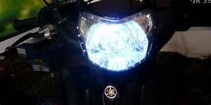 Begini Cara Membuat Lampu Motor Lebih Terang
