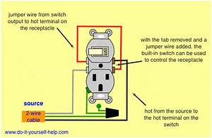 Outlet Switch Combo Wiring Diagram