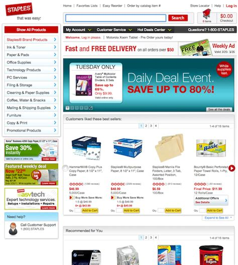 Home Page Strategy: Category vs. Product – Articles ...