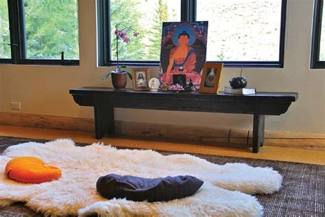 soothing meditation room ideas    zen