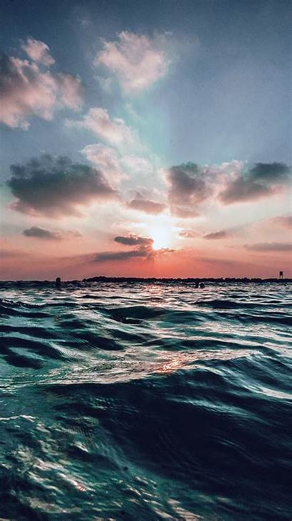 Sea Ocean Sky Water Sunset Nature Summer