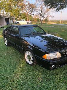 3rd gen black 1993 Ford Mustang SVT Cobra manual For Sale - MustangCarPlace