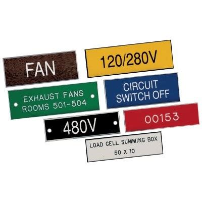 Labeling your electrical panel (the breakers inside the panel) is important so that you can control any area of your home safely during power outages and certain diy projects. Engraved Electrical Panel Labels | PW Engraving
