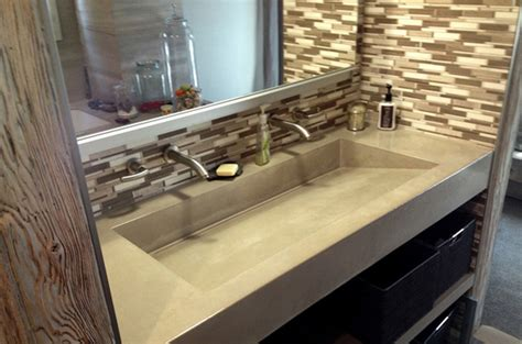 concrete countertop and sink island ny s source for concrete countertops and