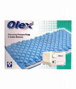 Olex anti decubitus air bed pump and bubble mattress to for Best mattress to prevent bed sores