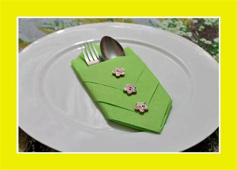 Servietten Falten Bestecktasche by Servietten Falten Bestecktasche Servietten