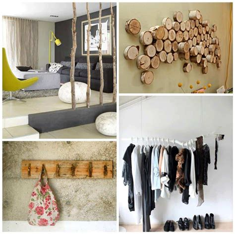 Creative Decor Ideas Using Driftwood Branches Or Reclaimed