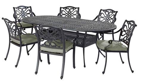 hartman 6 seater cast aluminium dining set complete