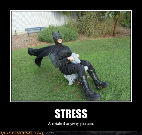 demotivational stress  demotivational posters