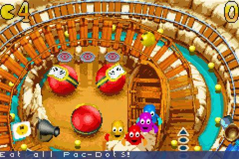 pac man pinball advance  game gamefabrique