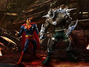 Superman Vs Doomsday Wallpapers - Wallpaper Cave
