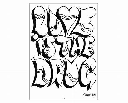 Coloring Crazy Pages Adults Designs Printable Heart