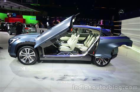 subaru viziv doors subaru viziv 2 concept door open indian autos blog