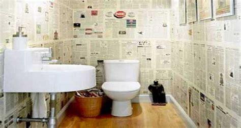 comment tapisser une chambre 10 façons d 39 arranger la déco de ses wc deco cool